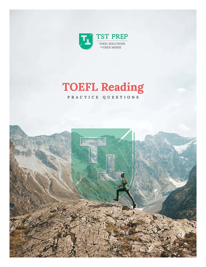 Cover of the TOEFL Reading Practice PDF
