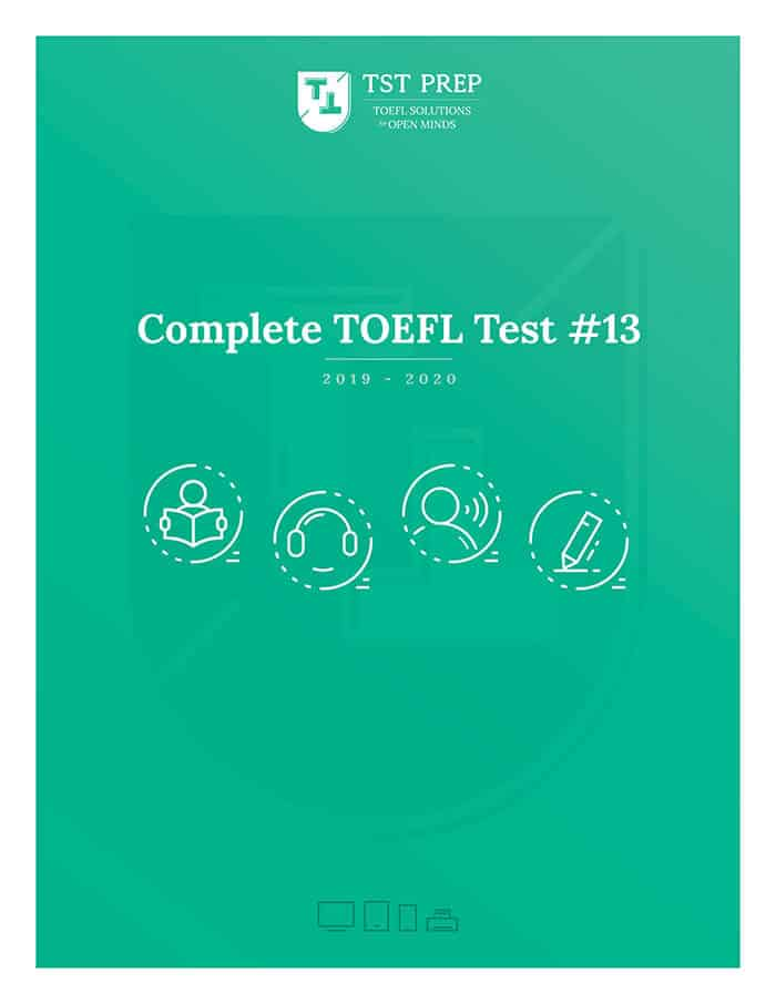 Cover of the Complete TOEFL Test #13