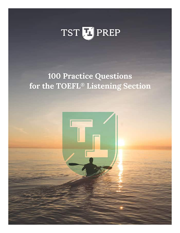 Cover of TOEFL Listening Practice Questions