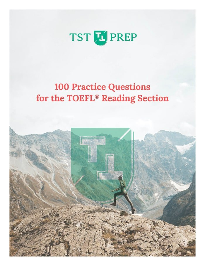 100 free TOEFL reading practice questions