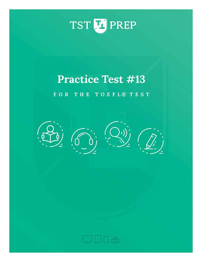 Complete TOEFL Test #13 - Cover - Desktop